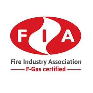 FIA Fire Idustry Association F-Gas Certified